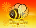 Cartoon Busy Bee by Ellie of Inspiring Art